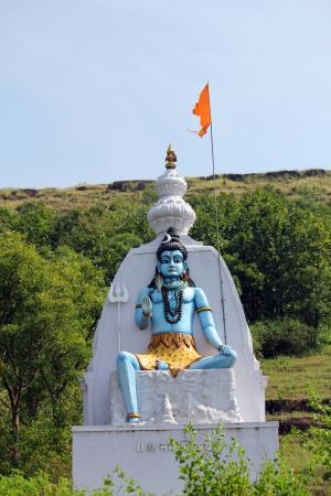 shankar: sculpture of Shankar bhagwan  indian god Stock Photo