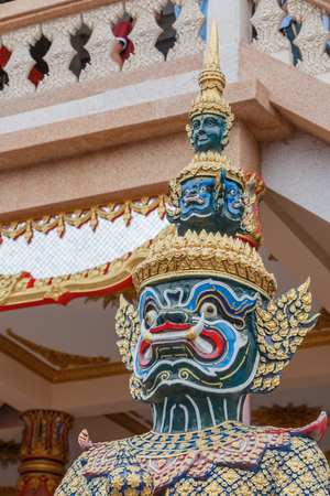 thailand temple: Giant in the Thailand temple