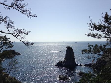 jeju island oedolgae seaside