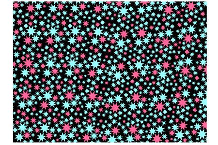 Star seamless pattern background Illustration