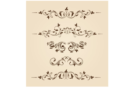 boarder: Vintage Floral decoration