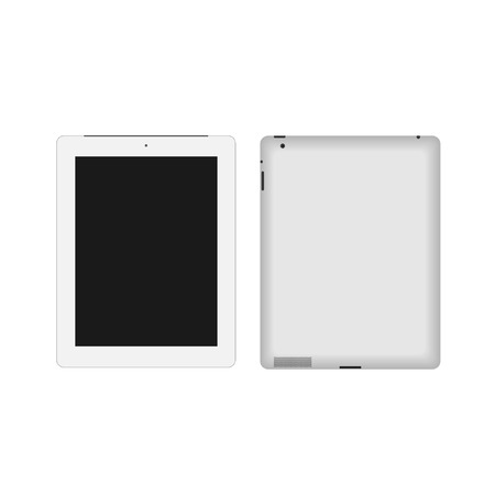 Realistic Tablet Pc With Blank Screen Stock Vector - 29115963