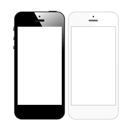 Realistic Smart Phone Mobile iphon Style Mockup