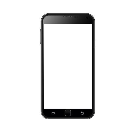 Realistic smart phone vector  イラスト・ベクター素材