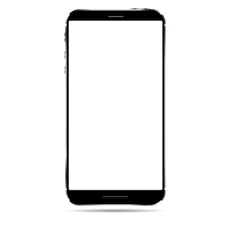 Realistic smart phone vector Illustration