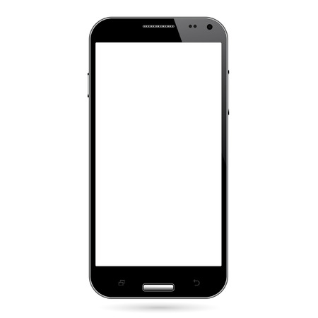 Realistic smart phone vector Ilustrace