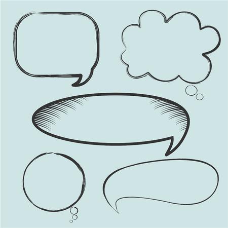 Speech bubble icon Ilustração