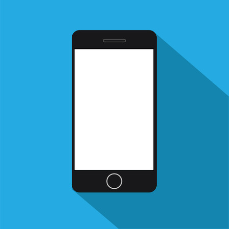 Vector flat smartphone icon Ilustração