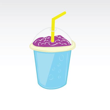 Cartoon drink vector Ilustração