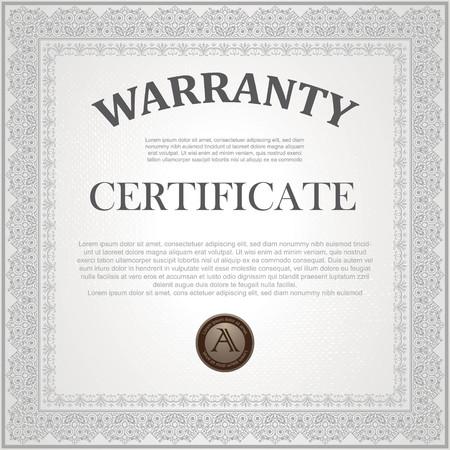 Square certificate model Çizim