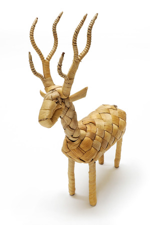 hand crafted: Water hyacinth toy is Eco-friendly Hand crafted.