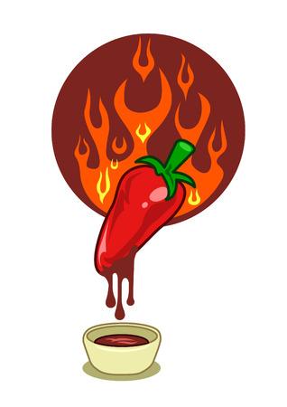 Hot chilli sauce