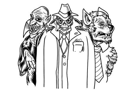 horror movie: Horror movie monsters