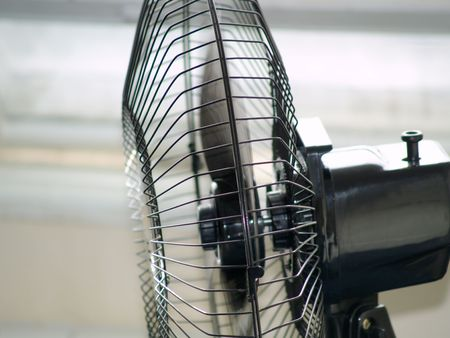 defrost: ventilator Stock Photo