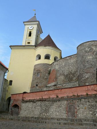 castle, clocktower