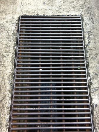steel: Steel pipe cap Stock Photo