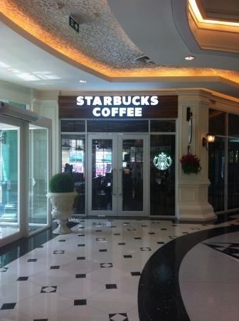 starbucks: Starbucks coffee shop in Thailand