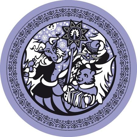 De enero. Enero es el mes de villancicos, mimos los, las ceremonias de la Navidad y la adivinaci�n.
