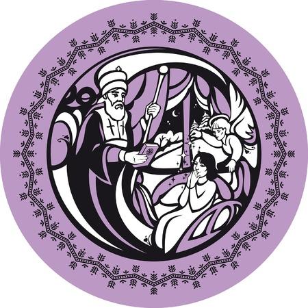 Diciembre. Diciembre es el mes de San Nicol�s. San Nicol�s es el santo patr�n de los ni�os y los viajeros.