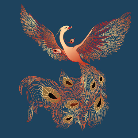 mythological character: Sunbird (phoenix)