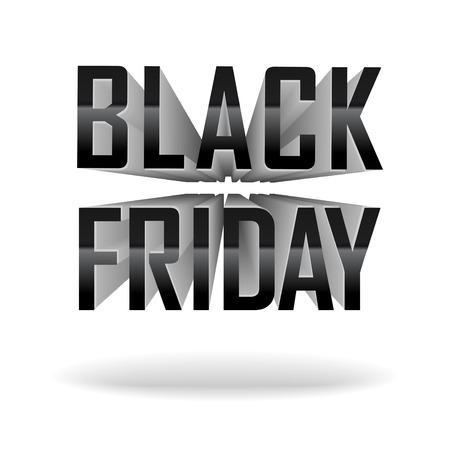 ベクター バナー - 黒い金曜日販売