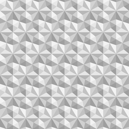 architectonic: Vector abstract geometric seamless pattern