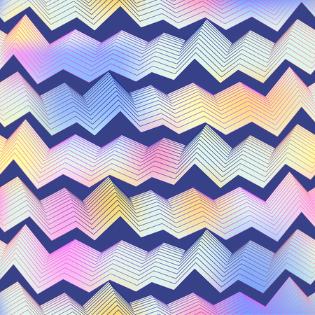 seamless pattern: Abstract seamless vector pattern zigzag