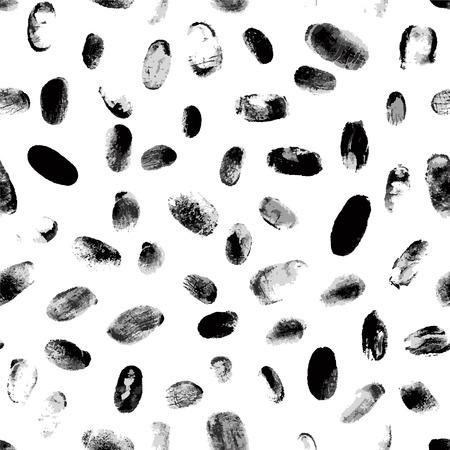 fingerprint: seamless pattern - fingerprint