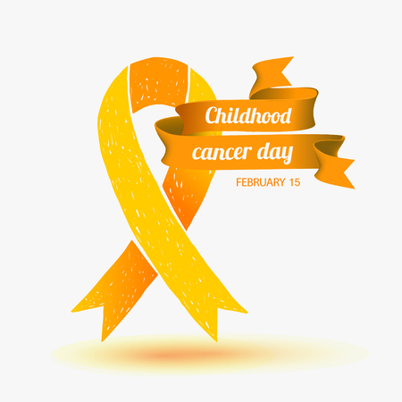 childhood cancer: Childhood Cancer Day. February 15