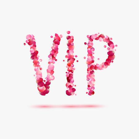 VIP (persona molto importante). Rosa rosa patals abbreviazione