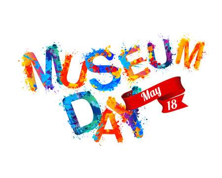 International Museum Day holiday. May 18. Vector