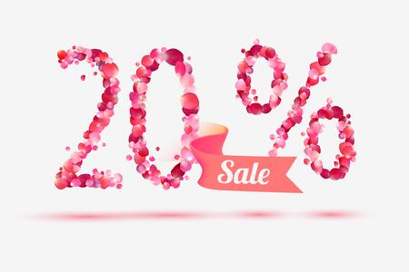 twenty (20) percents sale.
