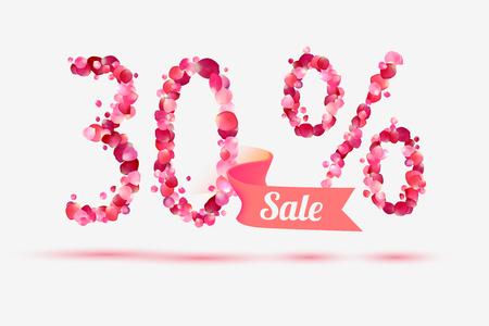 thirty: thirty (30) percents sale.