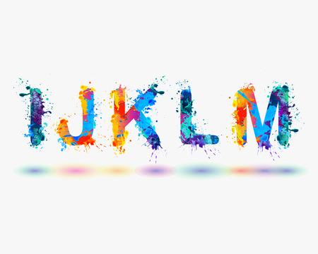 Alphabet. Letters I, J, K, L, M. Part 3