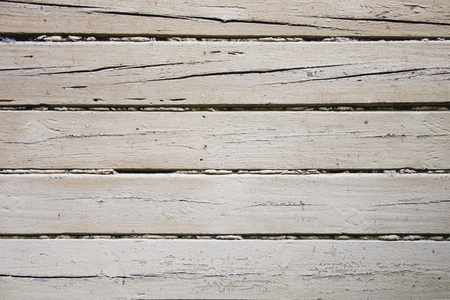 planking: white grunge wood planking background. Scratched paint