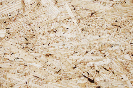 oriented: oriented strand board background, OSB material texture
