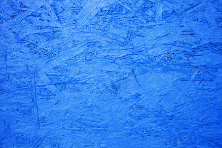 oriented: oriented strand board background, OSB blue texture