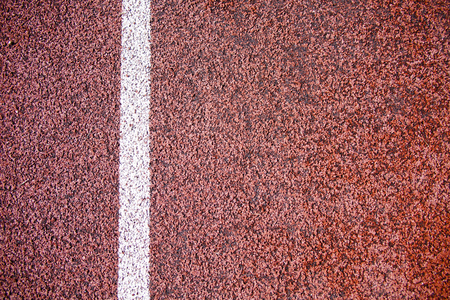 caoutchouc: rubber coating texture on the stadium