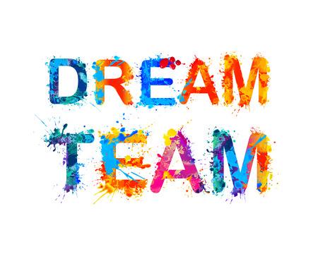 équipe de rêve Vecteurs