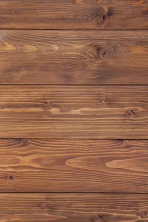 planking: Natural wood planking background. Rustic brown texture Stock Photo