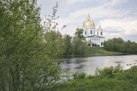 cna: Holy Trinity Cathedral in Morshansk. Cna Riverside