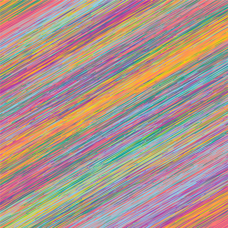 Vector abstract background - colorful diagonal strokes Illustration