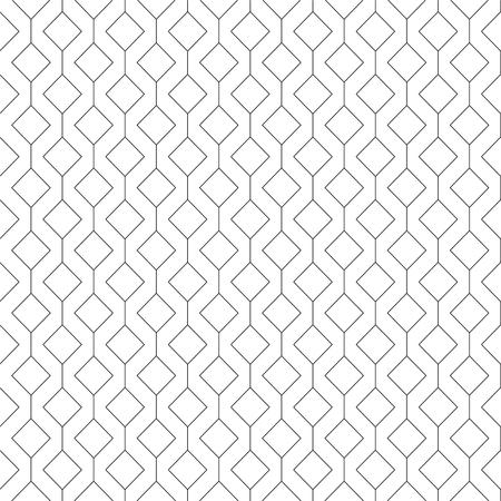 Vector abstract seamless pattern - linear rhombuses background
