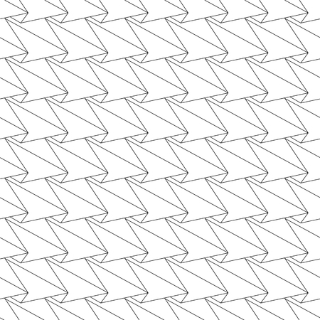abstract seamless pattern - linear geometric background Illustration