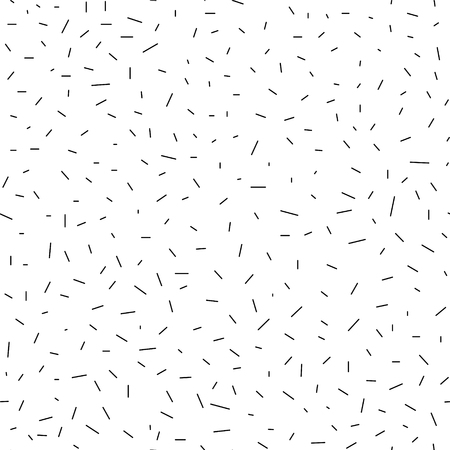 Seamless vector geometric abstract pattern - chaotic dashes