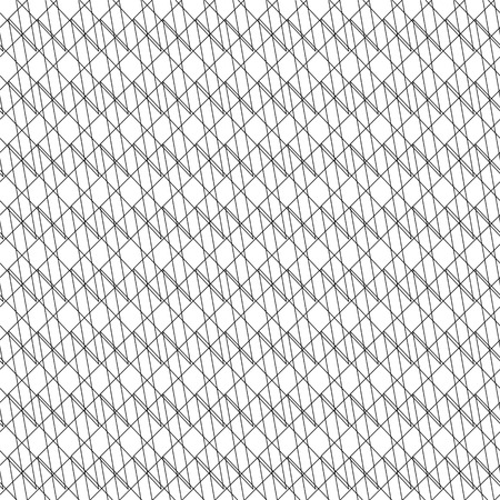 Vector abstract seamless pattern. Linear geometric background