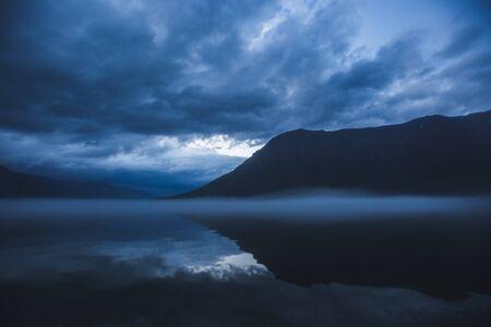 Lama Lake on Putorana Plateau, Taimyr. Russia, Krasnoyarsk region