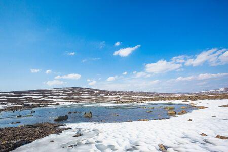 Lake on Putorana Plateau, Taimyr. Russia, Krasnoyarsk region Banco de Imagens