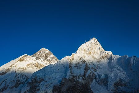View of the Nirekha, Everest, Lobuche from Kala Patar Mount. Nepal