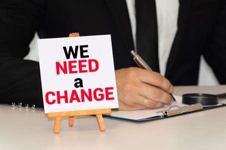 Need To Change Concept, motivation and business concept